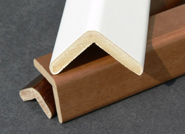 Veneered corner mouldings 35mm art.135